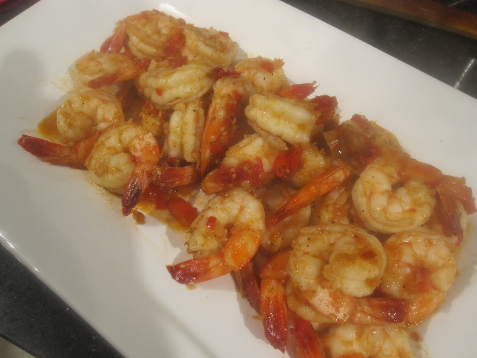 Bubbles n squeaks tom rim king prawns sauteed with for Does fish oil make you poop