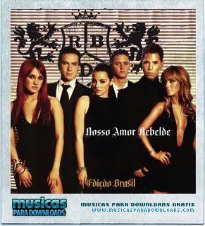 Capa RBD – Nosso Amor : Edição Brasil | músicas