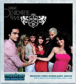 Capa RBD – Para Olvidarte De Mí | músicas