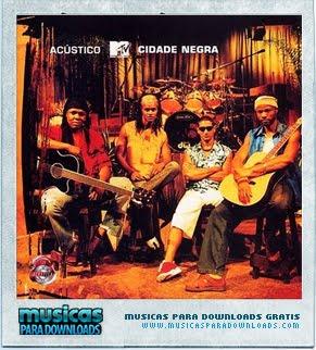 Capa Cidade Negra – Acústico MTV | músicas