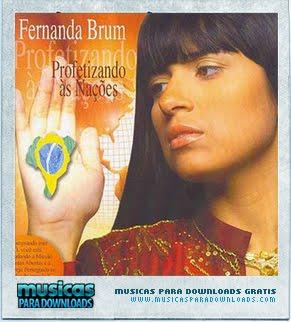 Capa Fernanda Brum – Profetizando às Nações | músicas