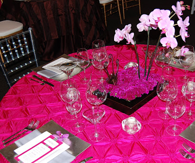 The first look was called Fuschia and Ice It 39s a great winter wedding