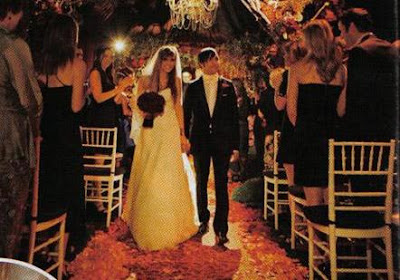 Wedding Aisle on Shots From Ashlee Simpson S Wedding Does Not I Repeat Not Mean That
