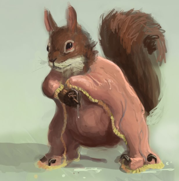 DSG 1578: Creature � SQUIRREL HAS BEEN PROFOUNDLY ALTERED BY ALIEN MUTAGEN