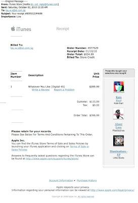 Tech. Guy's Blog: Fake iTunes Receipt
