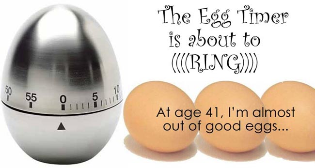 The Egg Timer (is about to ring)