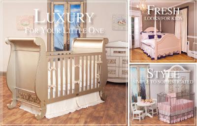 Boutique Mom Bratt Decor Luxury Upscale Baby And Kid S Cribs