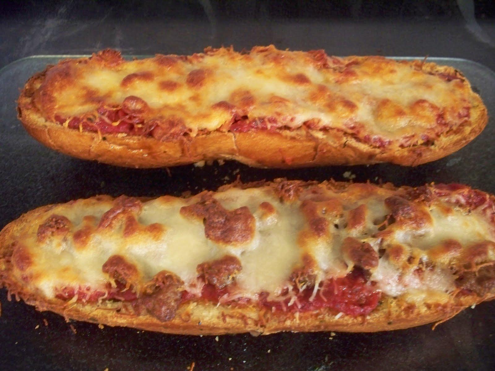 The Sugar Queen: French Bread Pizza