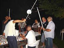 una serata di satelliti