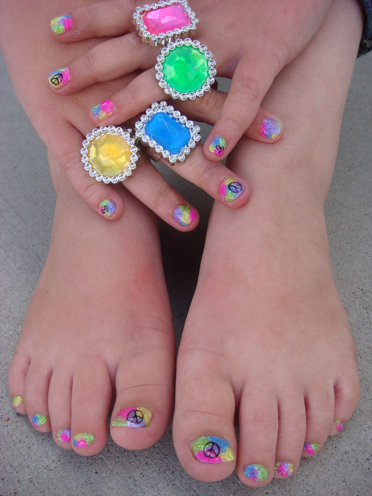 Cute Nail Designs For 10 Year Olds Toothpick Nail Art Designs
