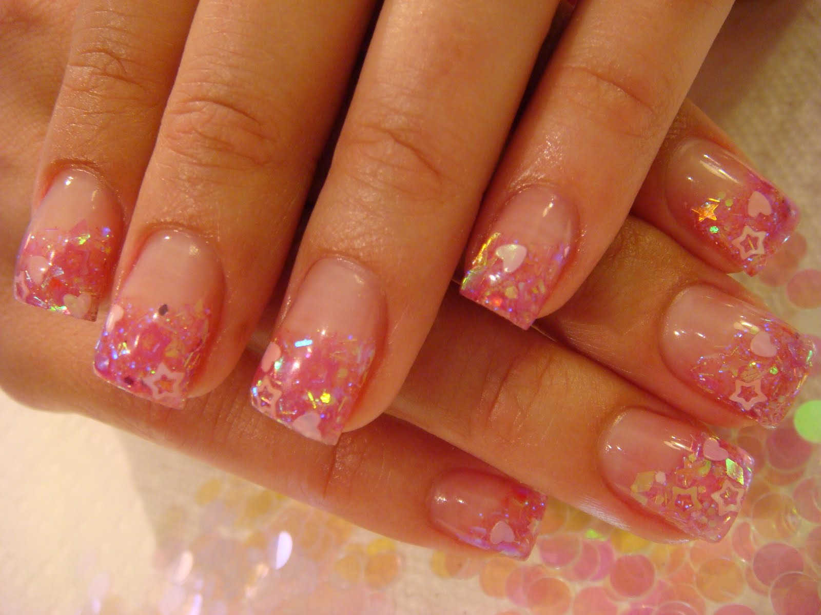 Summer Acrylic Nail Designs | Nail Designs, Hair Styles, Tattoos ...