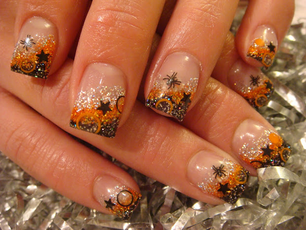 halloween young nails acrylic