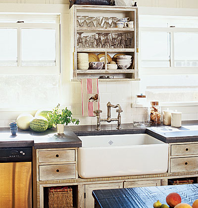Country Farm Sink : Country Style Kitchen Sinks - Wallpaper SIde Blog