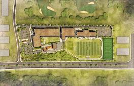 Birdseye View of DTV Campus