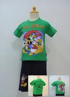 baju kartun motif walt disney