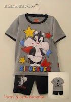 baju kartun anak motif sylvester