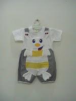 busana bayi motif kodok