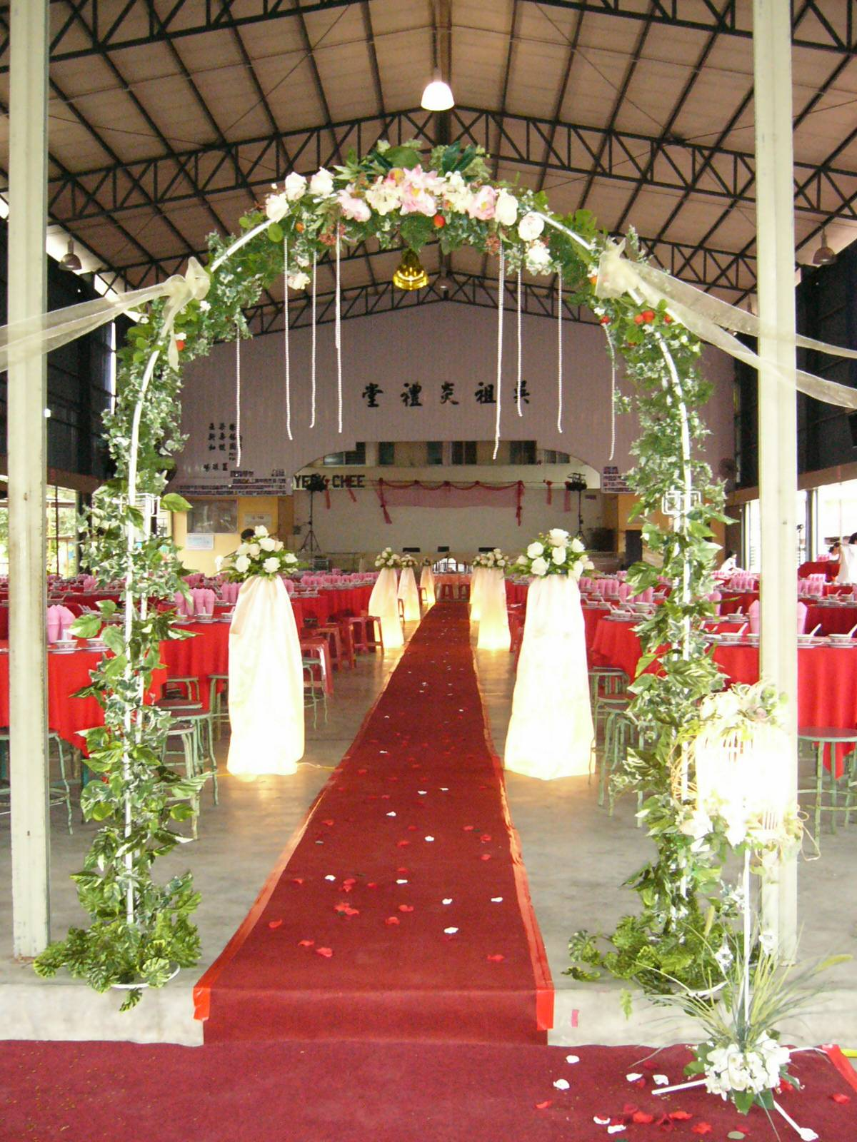 Fly design collection wedding hall decoration for Hall decoration in home