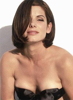 naked sandra bullock