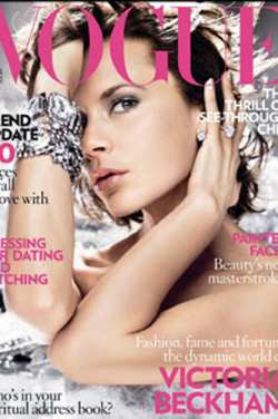 Victoria Beckham Upset Over Vogue Cover