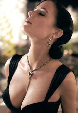 Bond Girl Eva Green won't mind stripping again