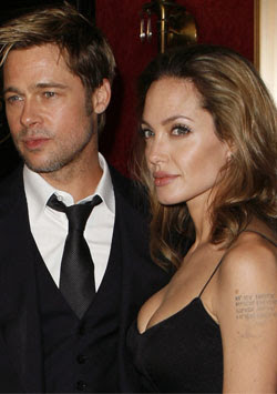 Angelina Jolie seems to be breaking up all the concepts regarding her relationship