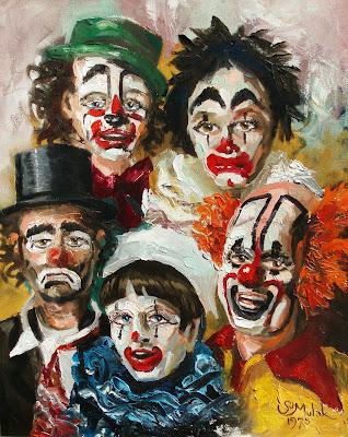 مهرج-مهرجون-مهرجين-التهريج-لوحة-رسام-رسمة-مخيفة-مضحكة-Clowning-Clowns-Clown-Paint-Panel-scary-funny