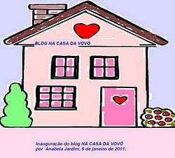 Novo blog de Anabela: Na casa da vov
