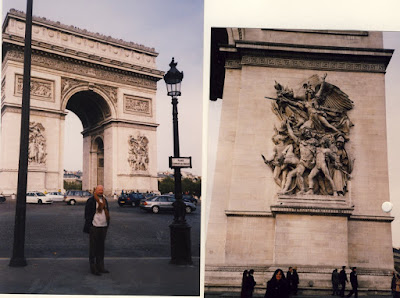Our Trip To Paris Starts At The Western End Of Champs Elysees With The Spectacular Arch Of Triumph