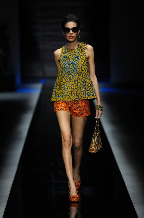 2010 Africa Fashion Week Ituen Basi Sakina Msa Ciaafrique African Fashion Beauty Style