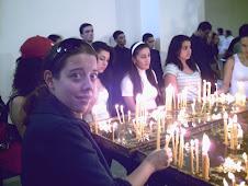 Encendiendo candelas