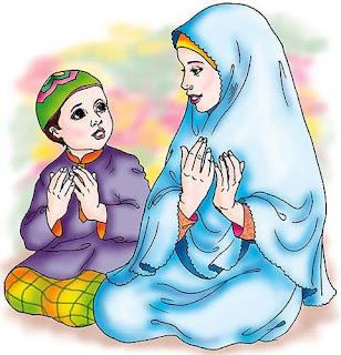 Mengajarkan anak membantu orang tua