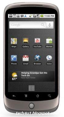 Nexus One phone