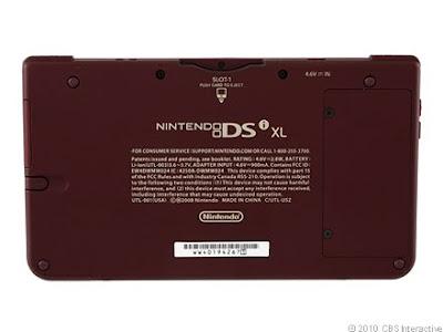 Nintendo DSi XL (burgundy)