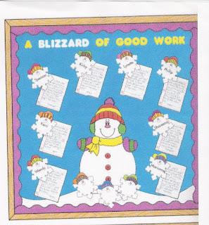 Site4teachers com winter bulletin board idea