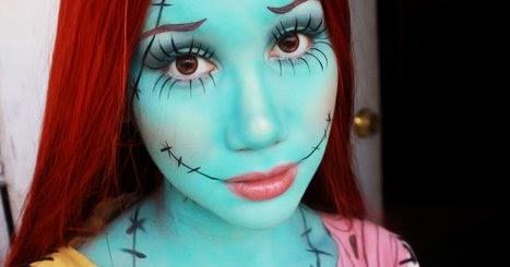 makeupmak sally nightmare before christmas makeup look