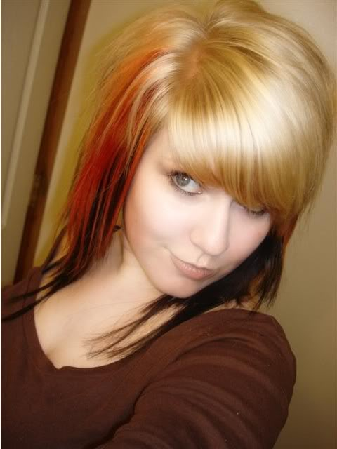 scene emo hairstyles for girls. 2010 Emo Haircuts - Emo Girls