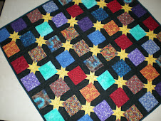 A small Quilt called Oh my Stars
