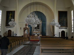 Inside Armenian Orthodox Church