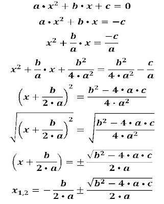 Matematicas Maravillosas: Fórmula de Baskara, ¿Cómo se deduce?