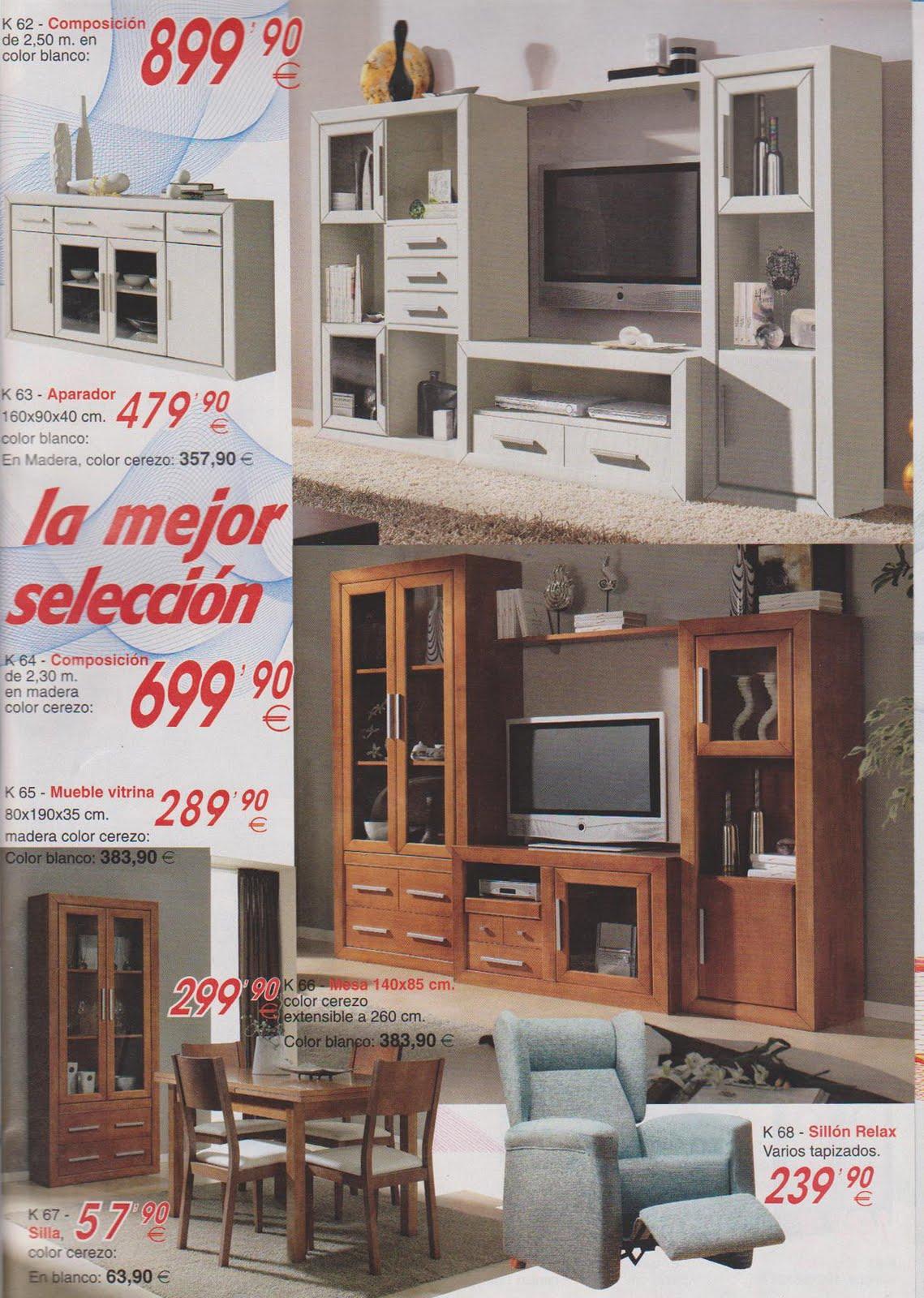 Ofertas de muebles conchi pliego ofertas noviembre 9 - Muebles murcia ofertas ...