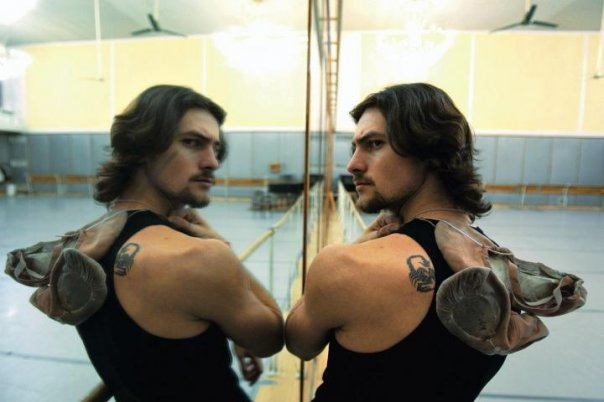 Baletnik Marcin Krajewski