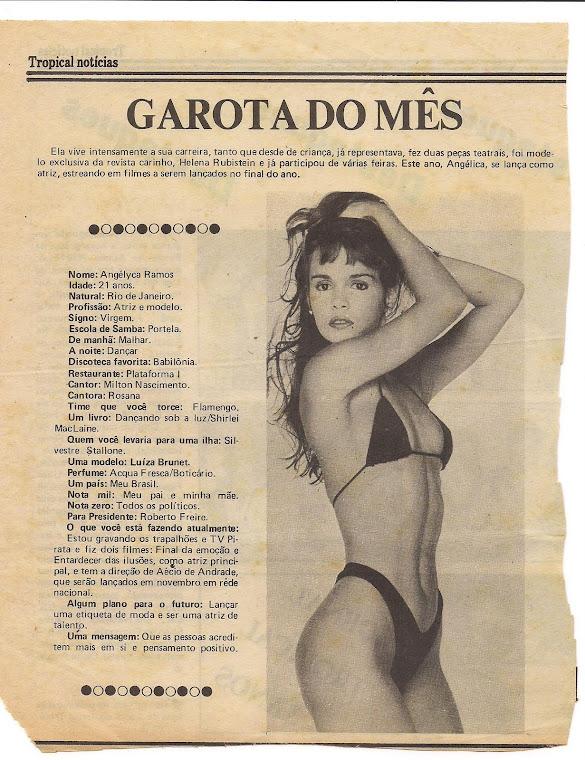 Garota do mês - Jornal Tropical