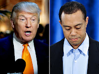 Donal Trump offered job to Tiger Woods's Affair