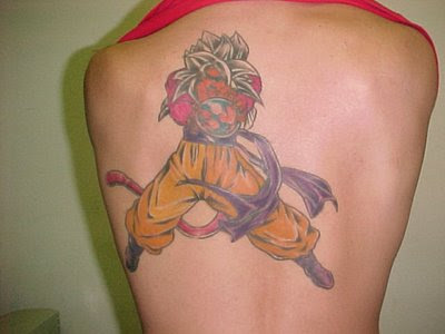 Dragon Ball Tattoo