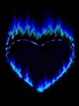 aber die Flamme ist in einer anderen Farbe, können Sie die gleiche Hitze ...