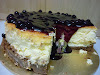 CheeseCake with Blueberry