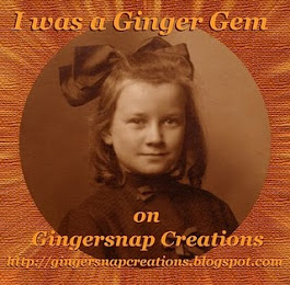 Thank you Gingersnap Creations!