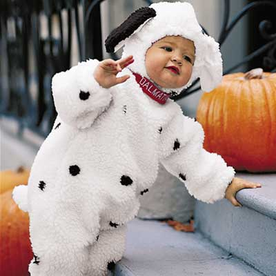 Cute Baby Boy with Rabbit Dress