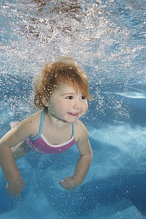 Cute Babies in water swimming love 07